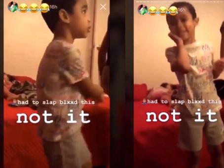 Homophobic Woman Slaps Child for Doing Viral Tik Tok Dance, Social Media Reacts [VIDEO]