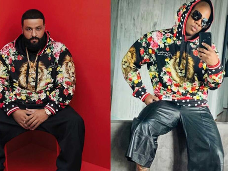 DJ Khaled Sends Miss Lawrence A Sample of His New Dolce & Gabbana Unisex Collection