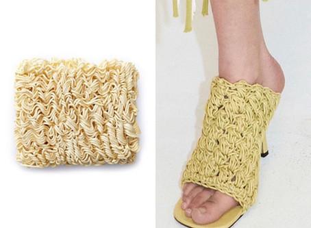 Would You Wear These? Bottega Vaneta Creates Ramen Noodle Inspired Heels
