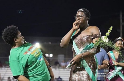 "Social Media Torn After White Station High Student Brandon Allen Wins as ""Homecoming Royalty"""