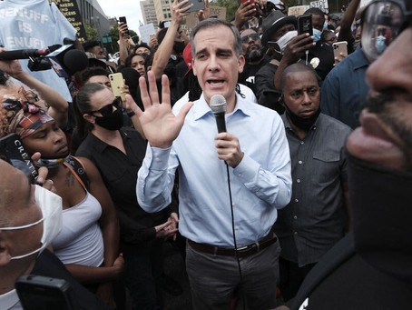 Mayor of Los Angeles Cuts Millions from Police Budget to Fund Black Communities