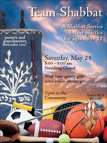 Team Shabbat Service