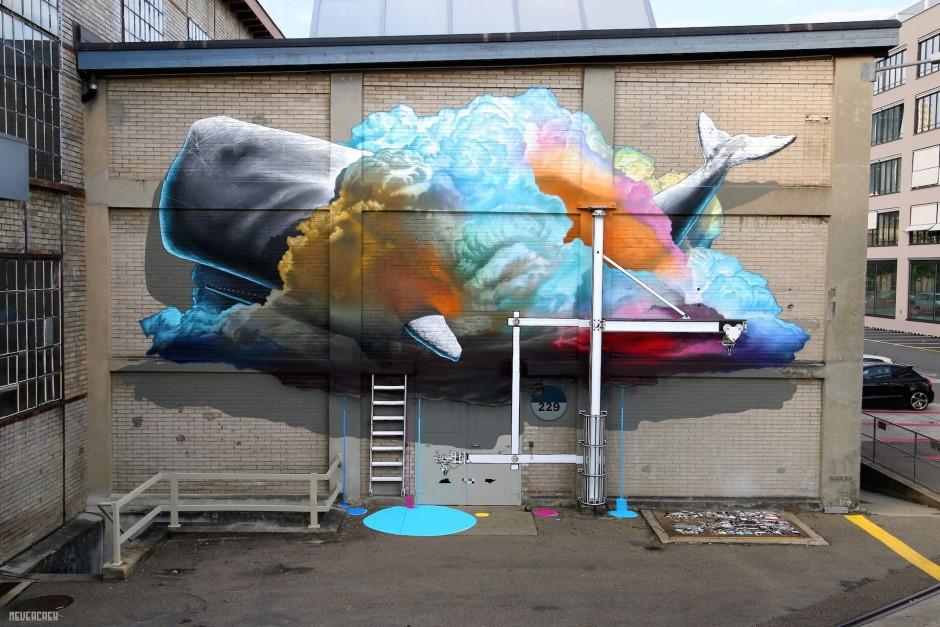 NEVERCREW graffiti street art