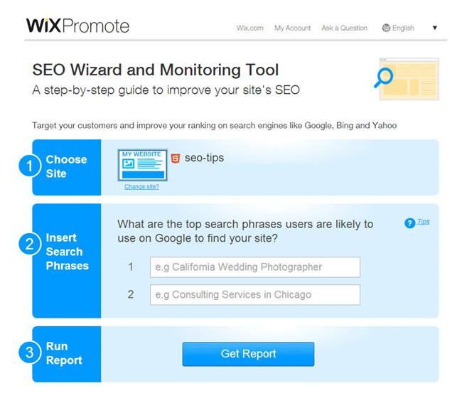 Wix SEOモニターツールWix SEOモニターツール