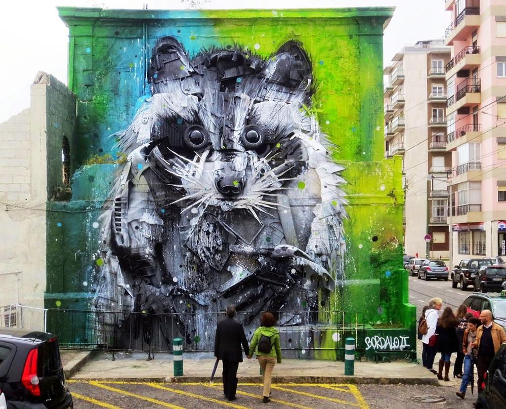 The best street art found in Portugal