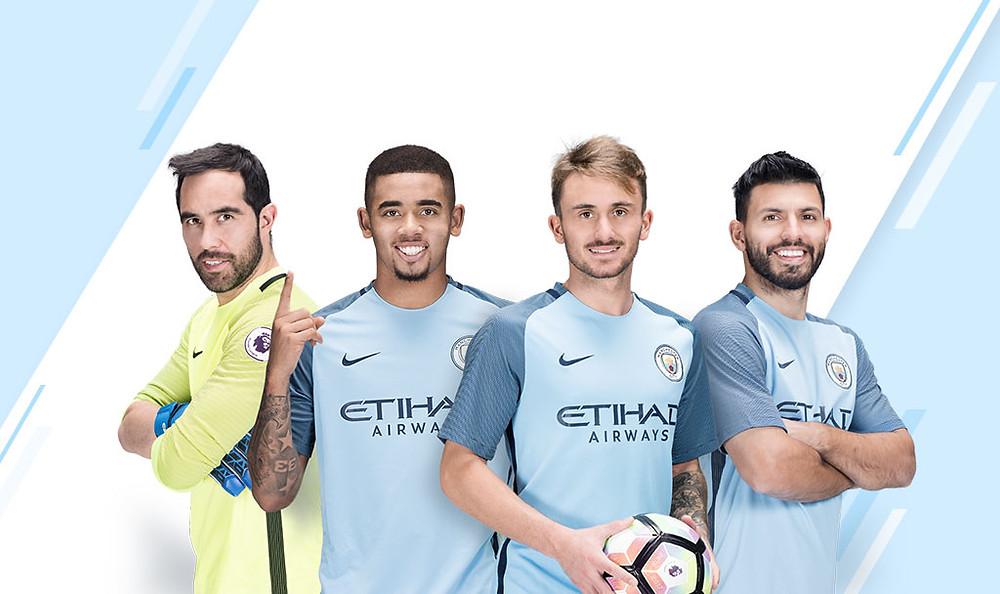 Prepara Tu Página Web Para Ganar Un Comercial Con Las Estrellas De Manchester City
