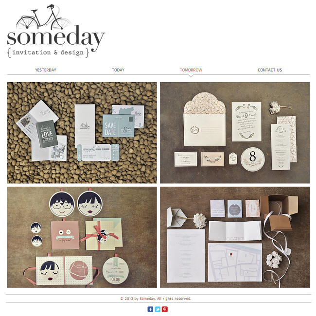 somedayのWixサイト