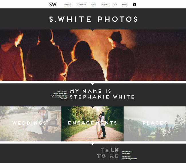 Stephanie Whiteさんのホームページ