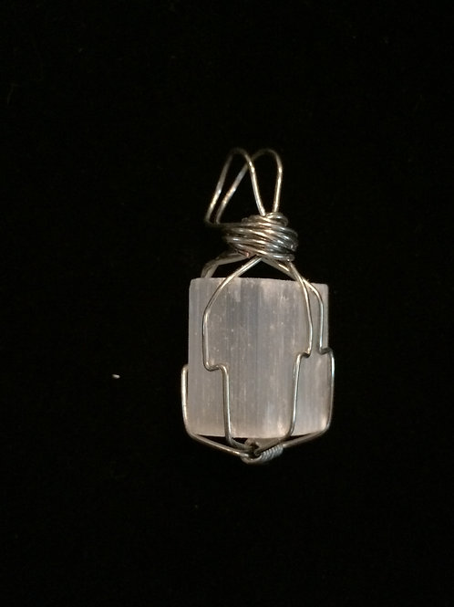 Small Selenite Pendant