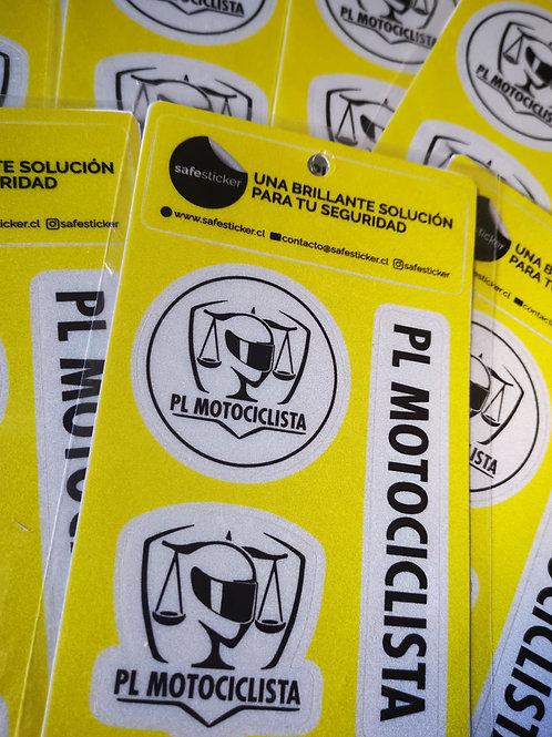 Kit 3 Stickers Reflectantes