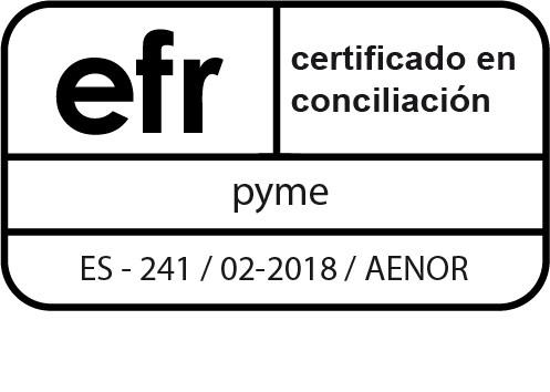 Certificado efr Grupo GAB