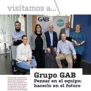 Reportaje sobre el Grupo GAB en Actualidad Aseguradora