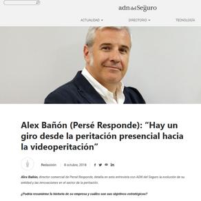 Entrevista de Alex Bañón en ADN del Seguro