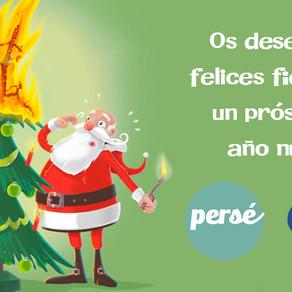 GAB y PERSÉ os desean Felices Fiestas