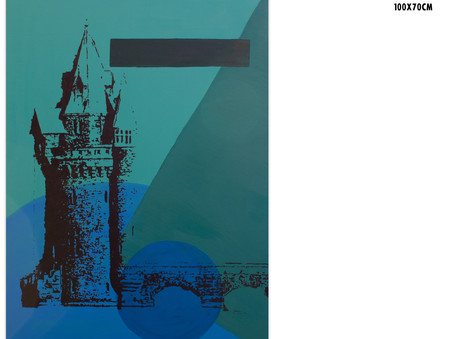 Evolution - Re-painting Lake Vyrnwy Tower.