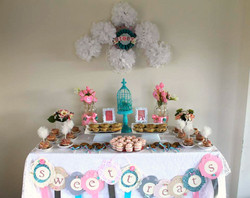 Vintage Sweet Heart Dessert Table
