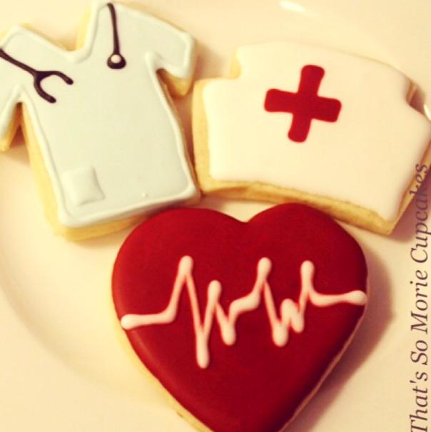 Nurses Cookies