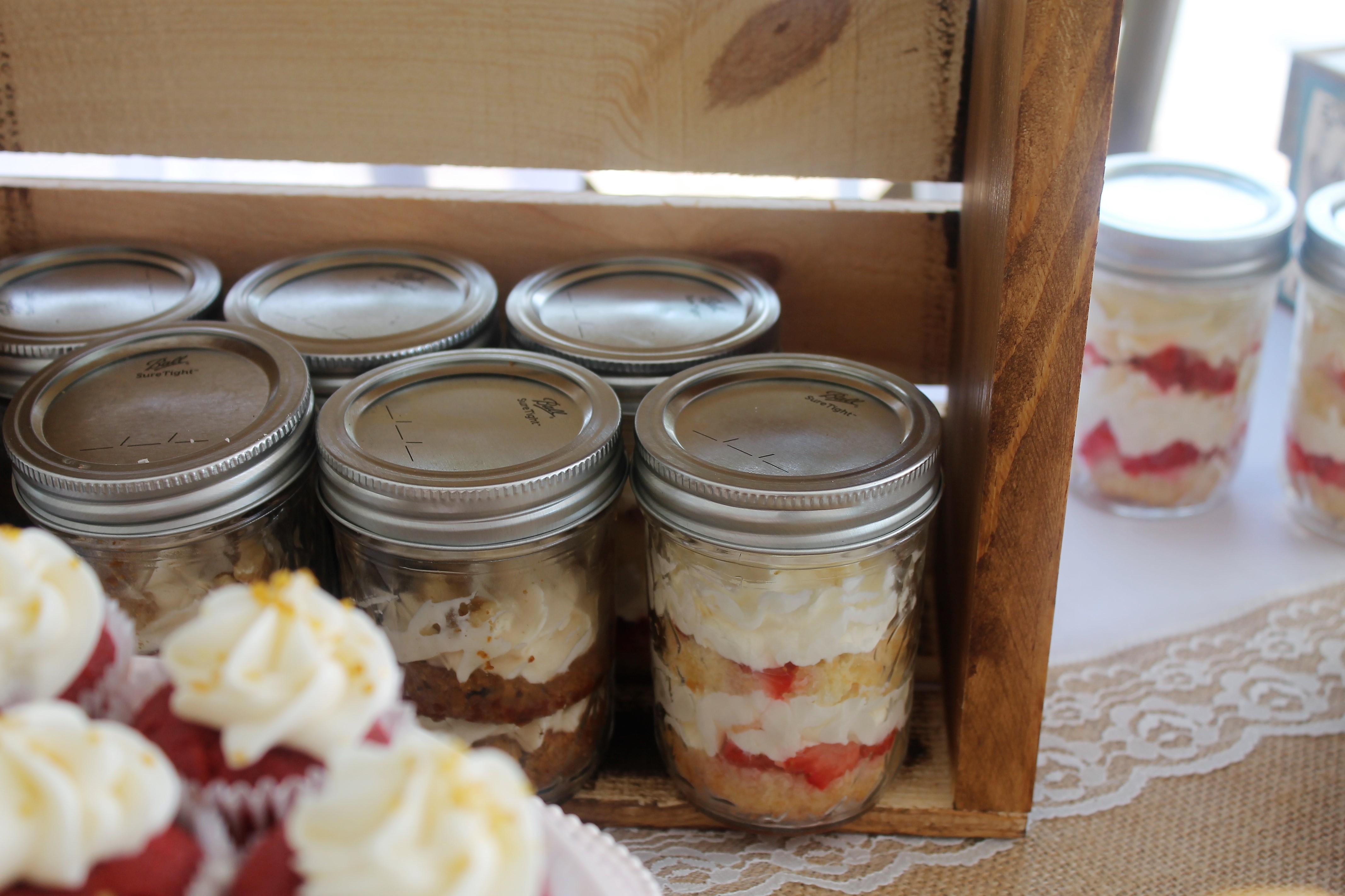 Cupcake Jars