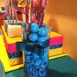Blue Gumballs & Twizzlers