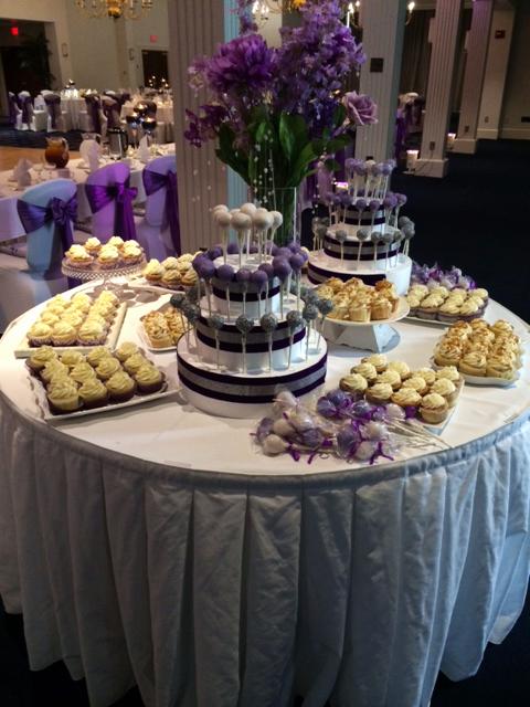 Desserts for a Wedding Reception