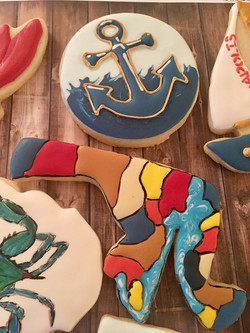 Maryland Cookies.Shape of MD