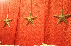 Backdrop - Gold Stars