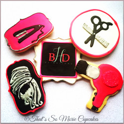 Beauty Salon Cookies