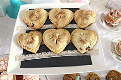 Heart-Shaped apple pie cookies