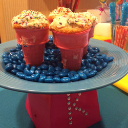 Cupcakes in an Ice Cream Cone