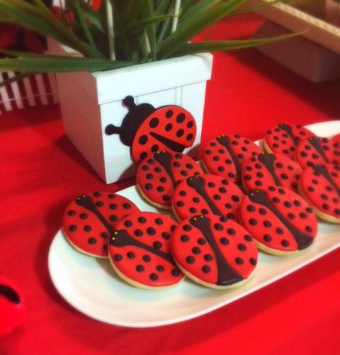 Lady Bug Cookies