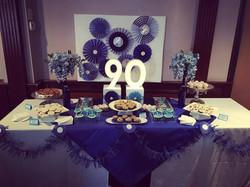 90th Dessert Table