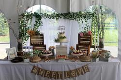 Rustic & Elegant Dessert Table