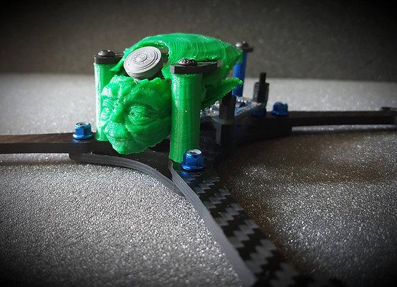 Yoda pod for Hyperlite Floss 5inch Racing Frame 3D printed