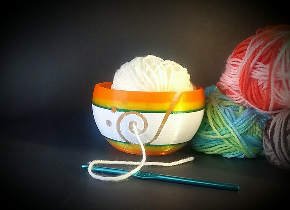 Yarn Bowl KnittingYarn bowl Bundle Strong Plastic Yarn - Storage / Protector/ Ho