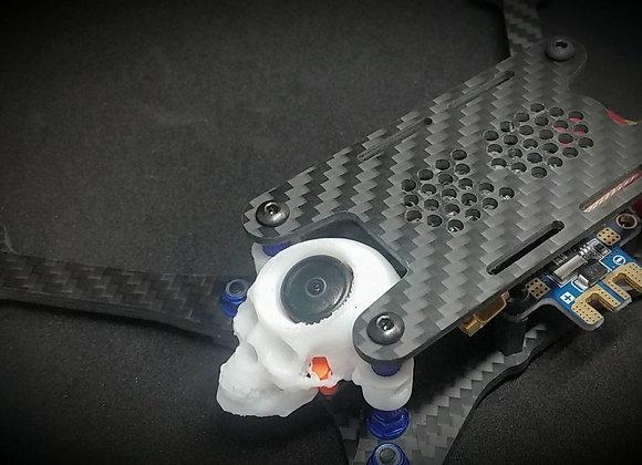Skull pod for microcam drone