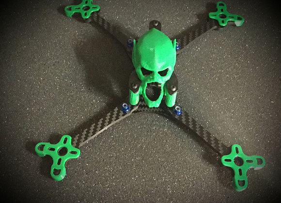 Set of Green Goblin Floss Softmount protectors and RX Antenna Mount