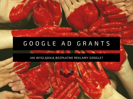 Jak skorzystać z bezpłatnych reklam Google'a? (Google Ad Grants)
