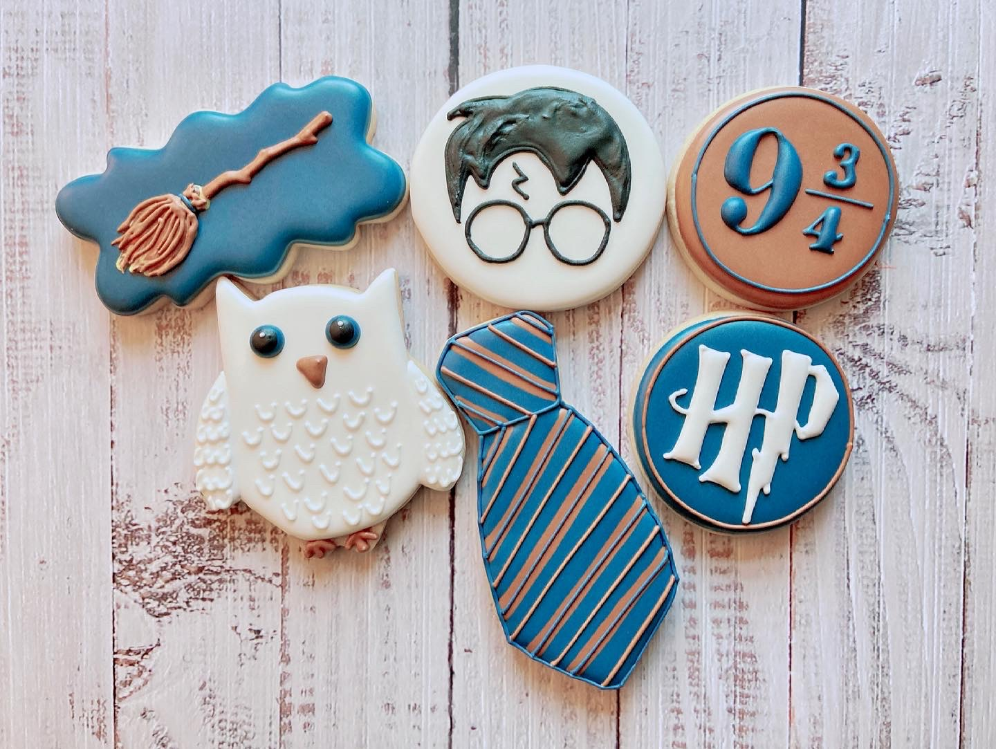 HP Birthday Cookies