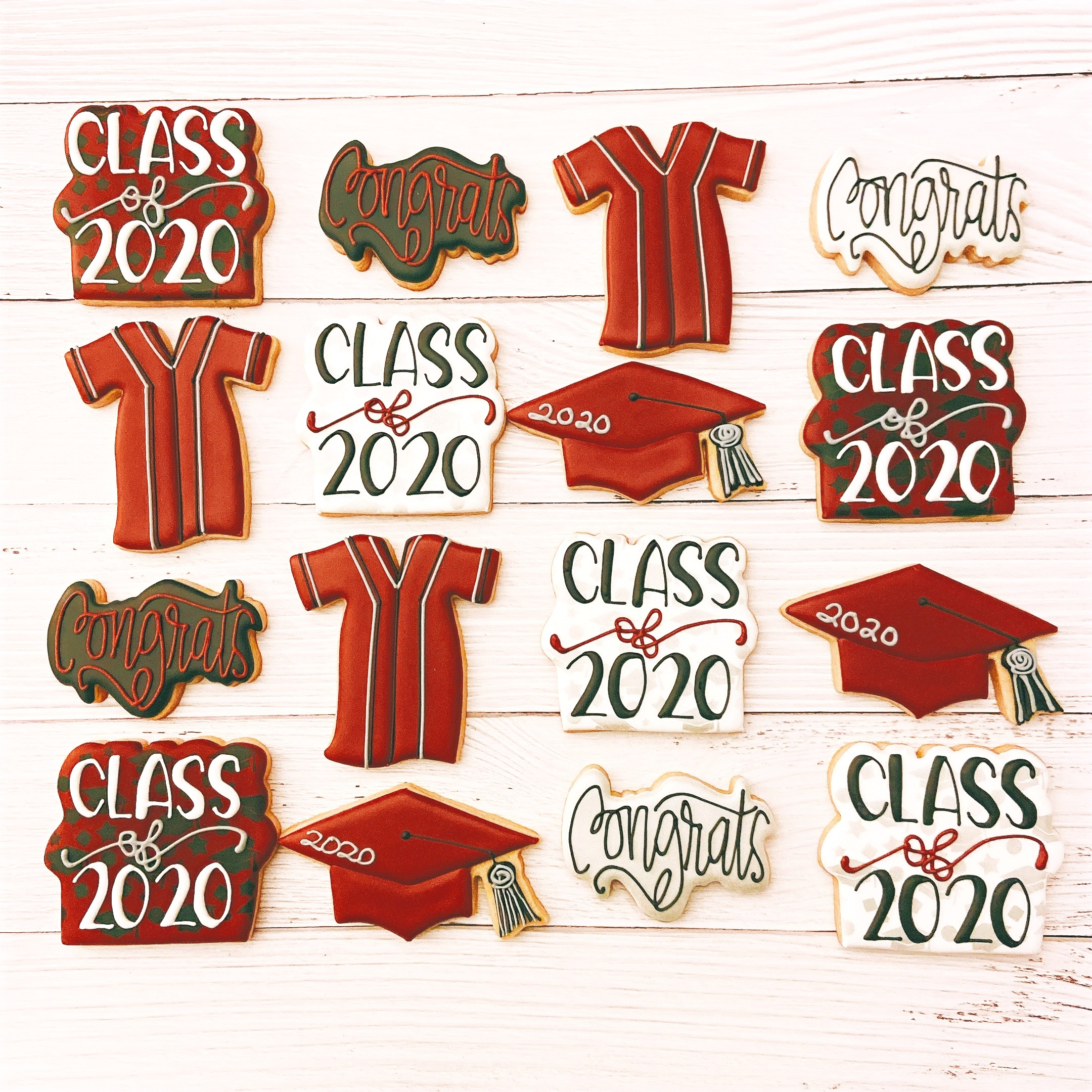 2020 Graduation Cookies