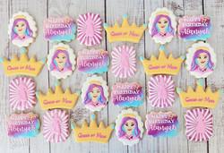 Descendants Birthday Cookies