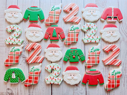 Christmas Birthday Cookies