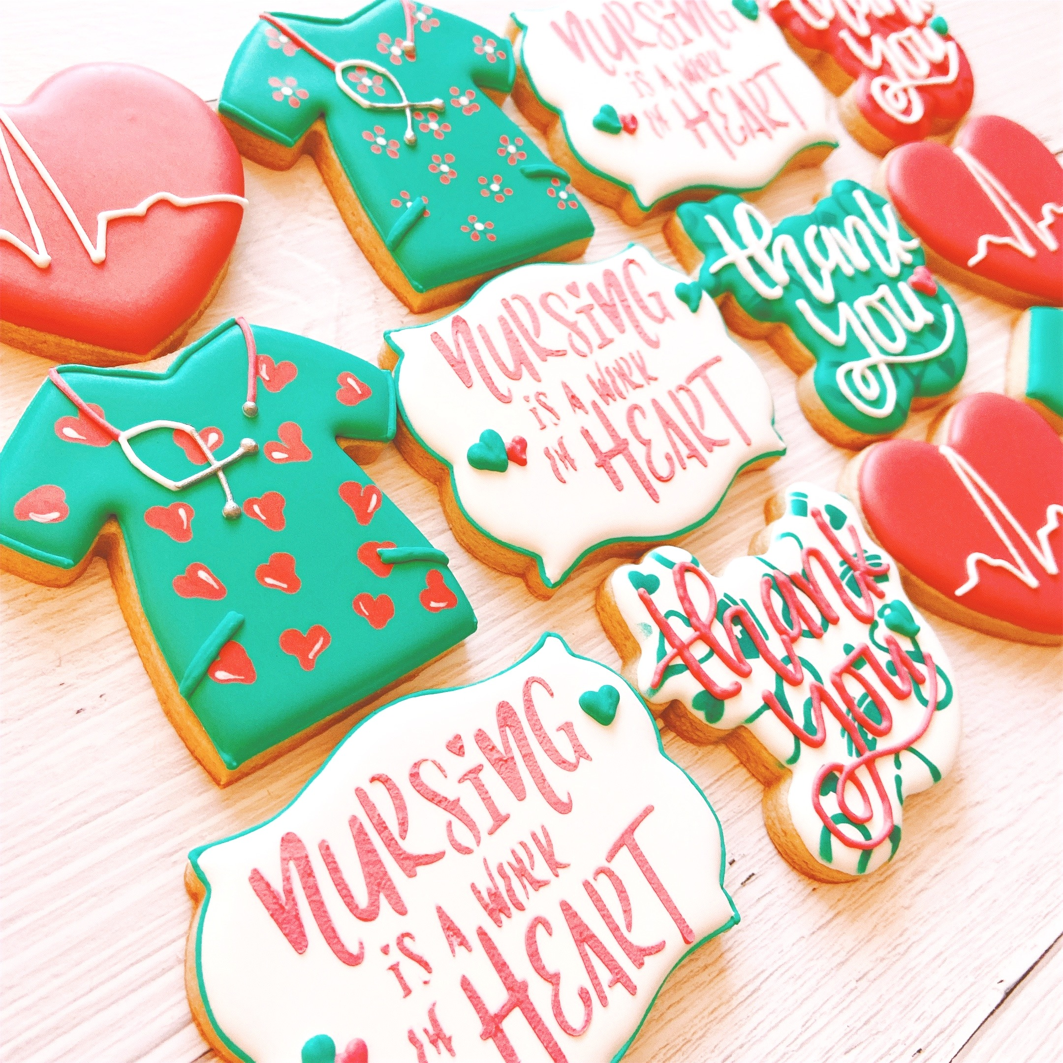 Nurse Appreciation Cookies