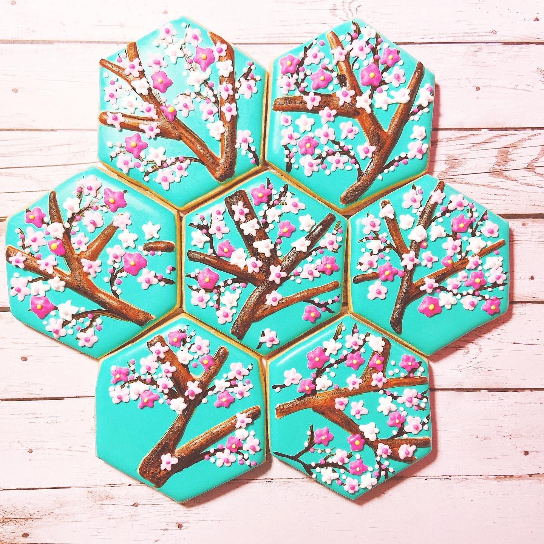 Cherry Blossom Mosaic