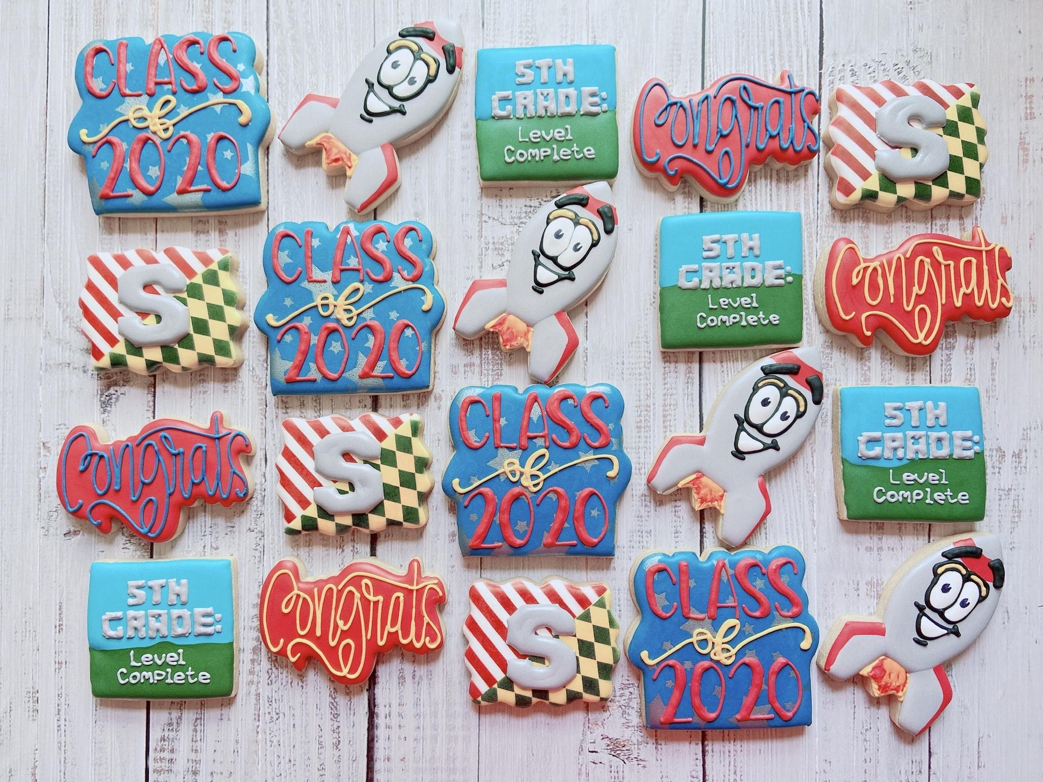 Grade Promotion Cookies
