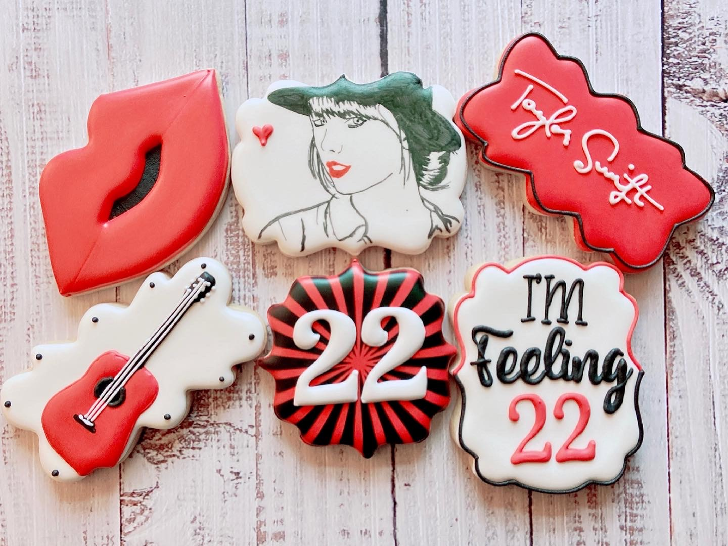 TS Birthday Cookies