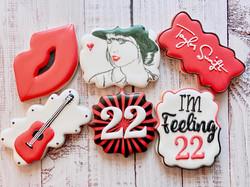 TS Birthday Cookies