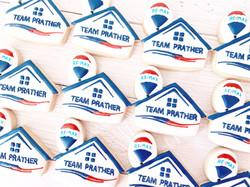 Realtor Logo Cookies