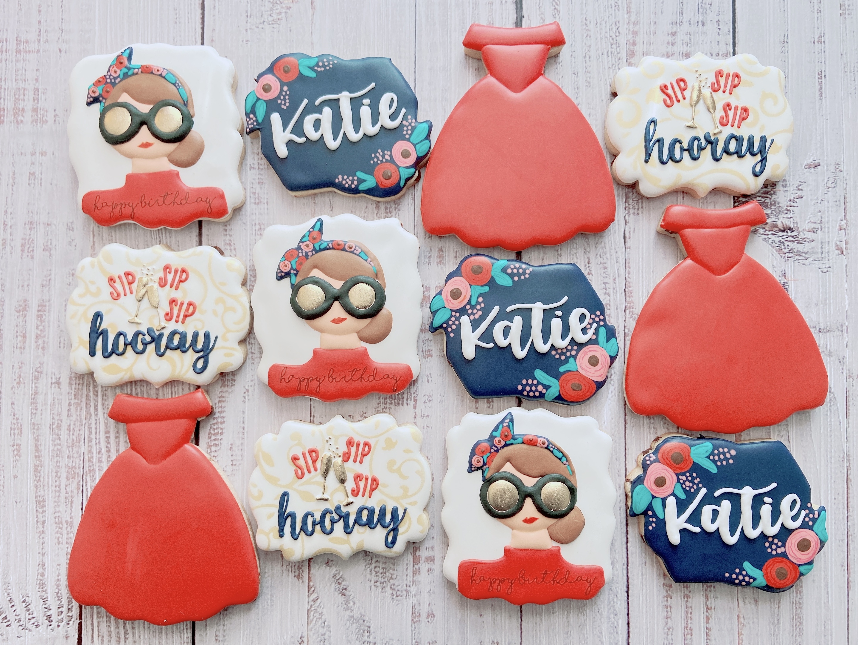 Birthday Girl Cookies