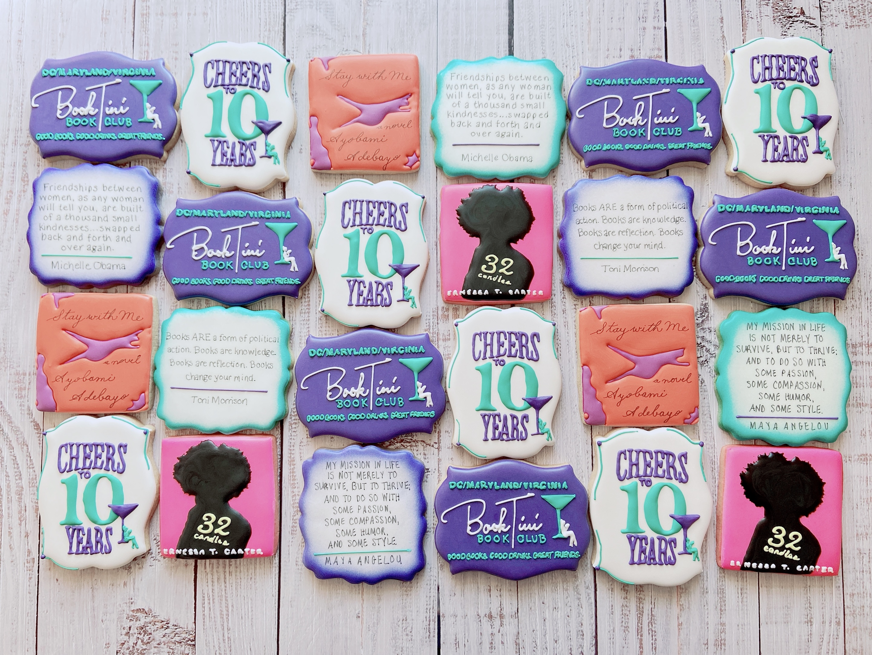 Book Club Cookies