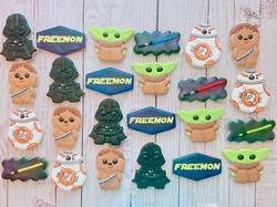 Star Wars Birthday Cookies